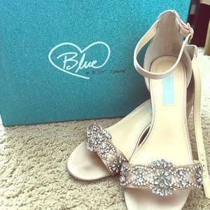 BetseyJohnson Blue heels
